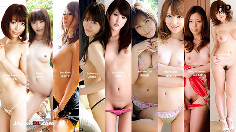 Mugen MKBD-S52-5 10 AV Idols Masturbation Collection 5 (1080P HD)