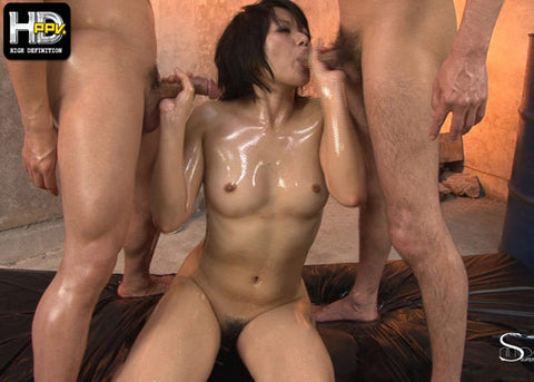Barely Legal Idol Fucked by Two Men - Haruka Uchiyama 内山遥 (720P HD)