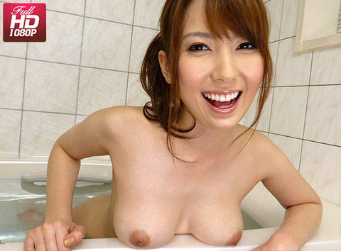 Busty Japanese Beauty Gives Blowjob in Bath - Yui Hatano 波多野結衣 (1080 HD)