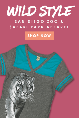 Wild Style - San Diego Zoo inspired apparel
