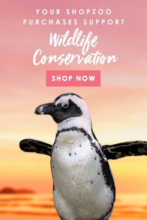 Your SHOPZOO purchases support wildlife conservation