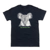 Koala Typography Adult T-shirt