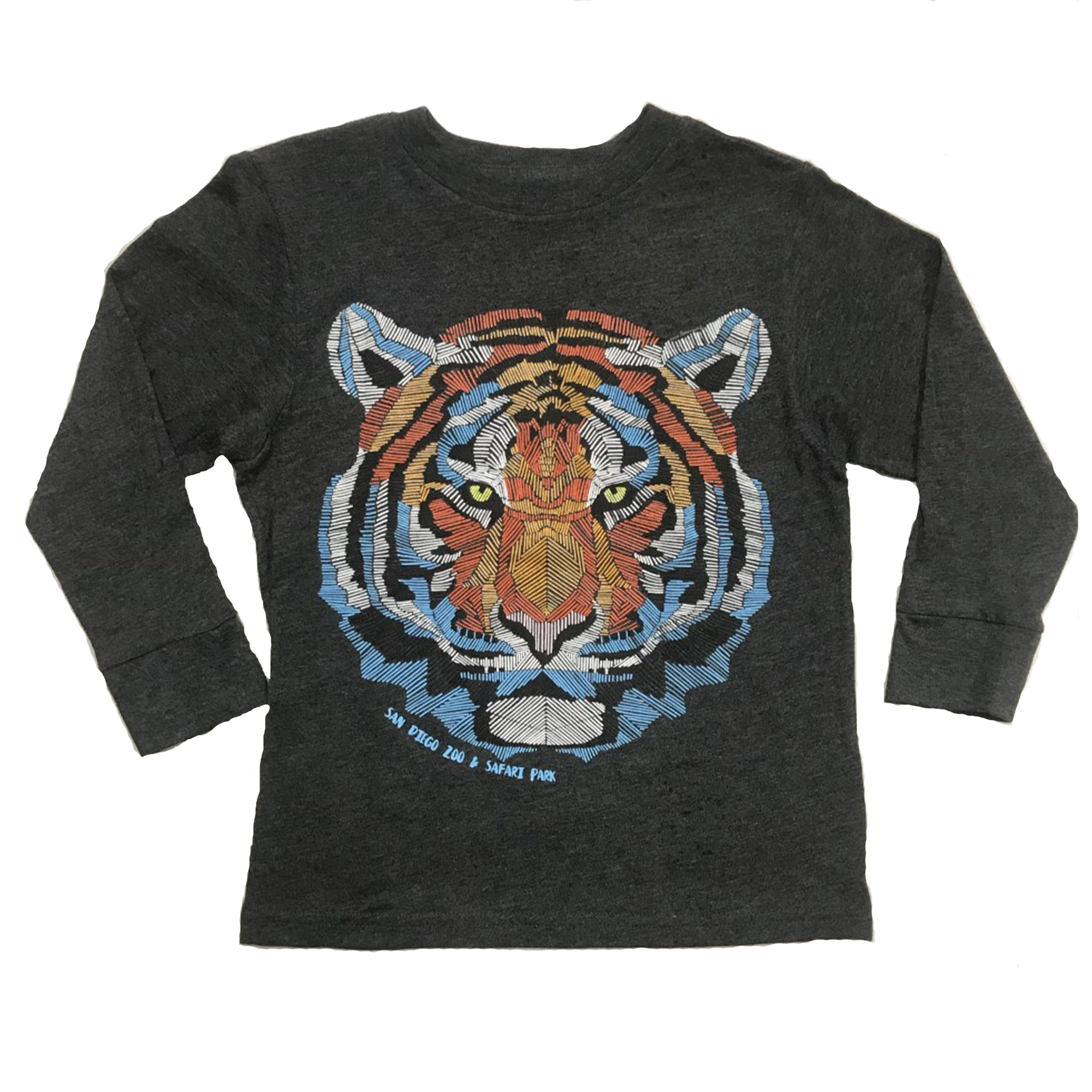 Tiger Glow Youth Long Sleeve T-shirt