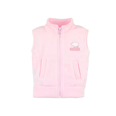 Safari Park Rhino Polar Fleece Vest - Infant