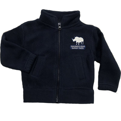 Safari Park Rhino Polar Fleece Jacket - Child