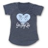 Ladies Hippo Heart Tee