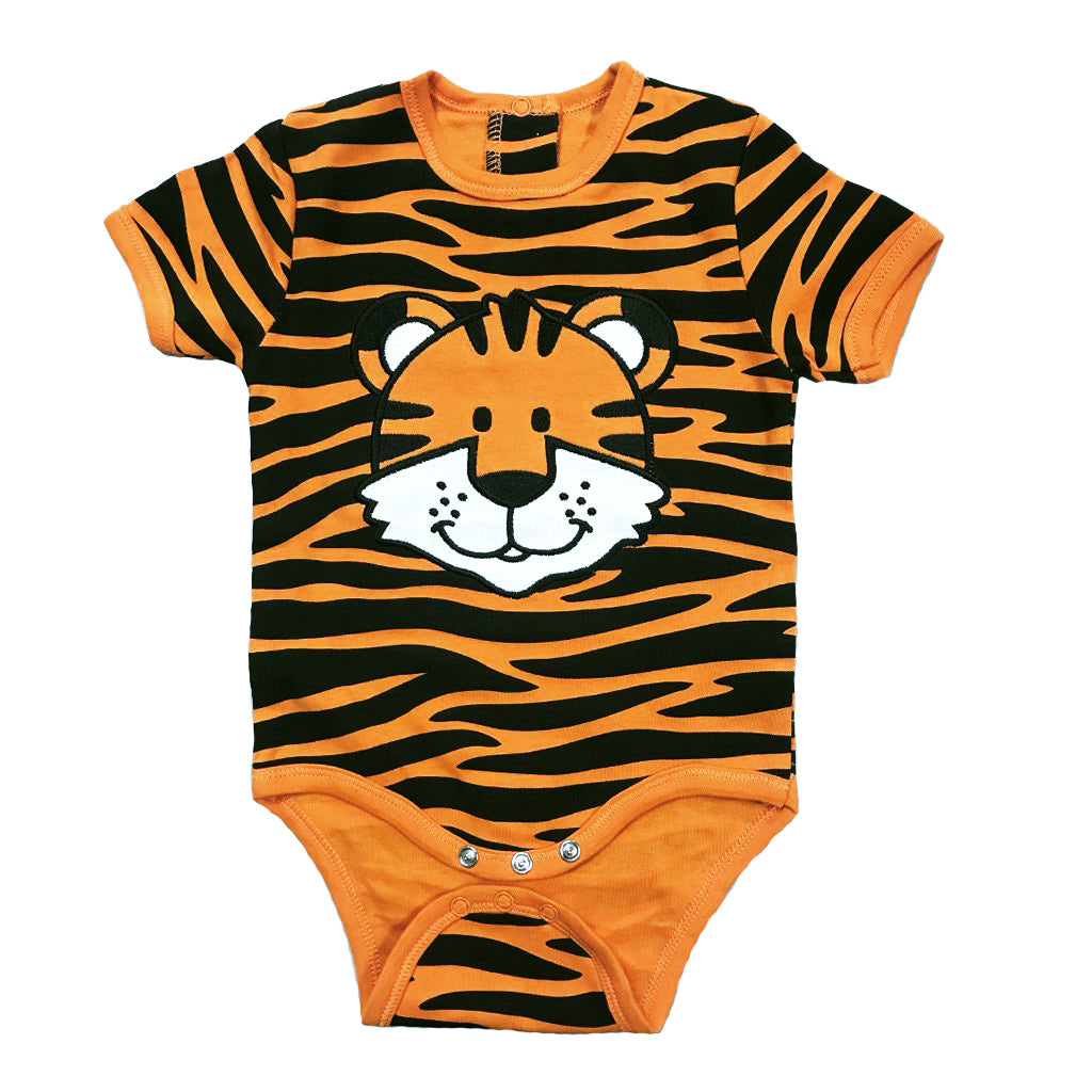 Tiger Stripe Infant Romper