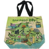 SD Zoo and Safari Park Map Tote