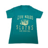 Life Needs Sloths Youth Tee
