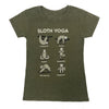 Sloth Yoga Ladies T-shirt