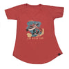 Ladies African Penguin T-shirt
