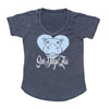 Girls Hippo Heart Tee