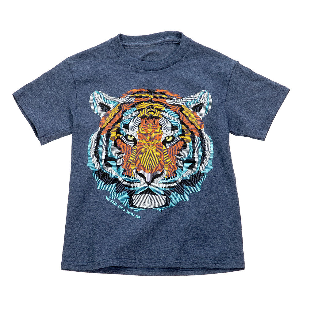 Tiger Glow Youth T-shirt