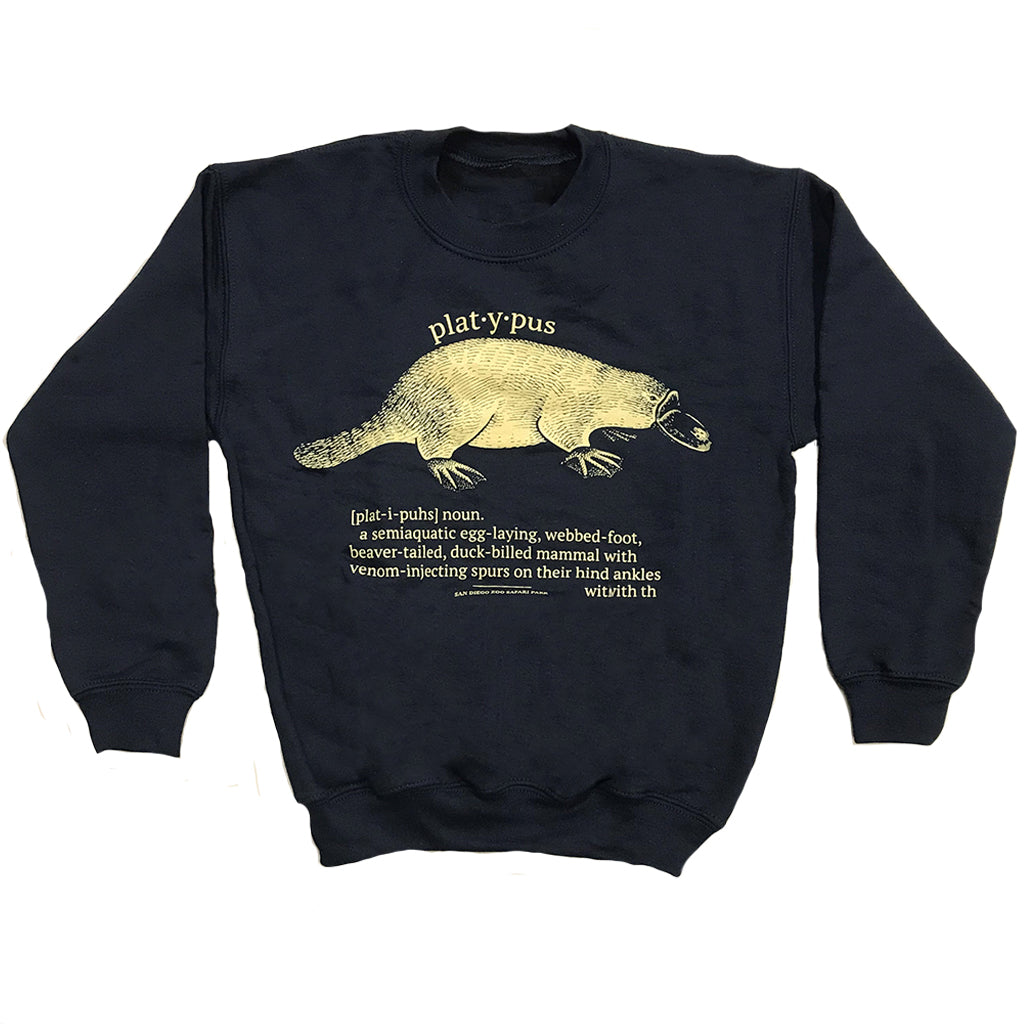 Platypus Dictionary Youth Sweatshirt