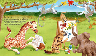 Children's Book: Ty the Quiet Giraffe