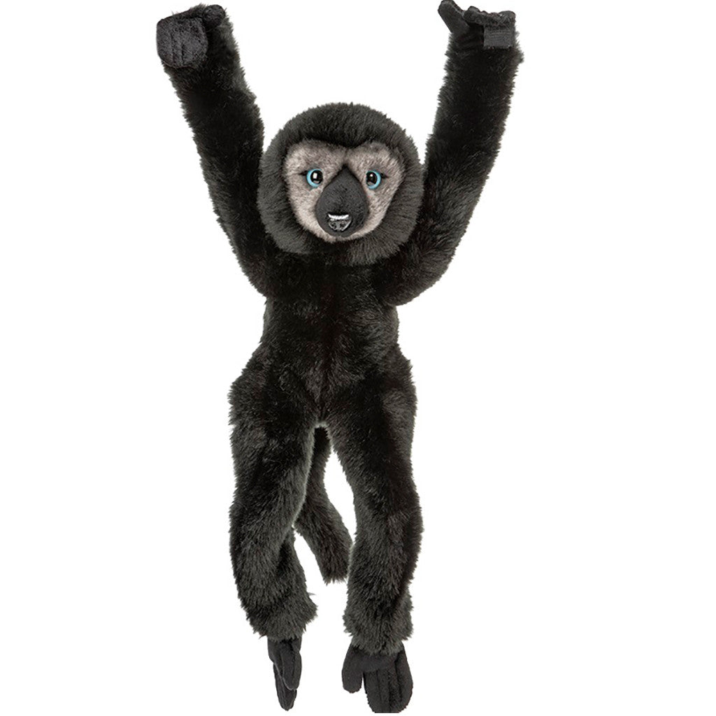 Africa Rocks Hanging Black Blue-Eyed Lemur Plush