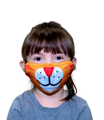 TIGER KIDS FACE MASK – PRE-ORDER NOW FOR ESTIMATED DELIVERY END OF JULY