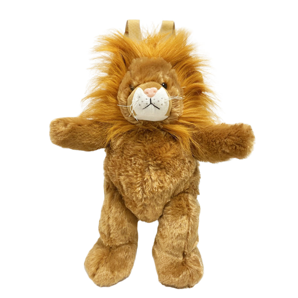 Lion Plush Backpack