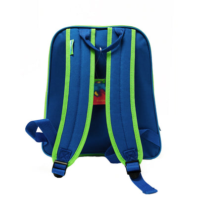 Safari Backpack - Royal/Green