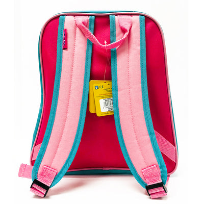 Safari Backpack - Pink/Aqua