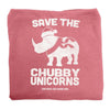 Holiday Edition Save the Chubby Unicorns Sweatshirt Blanket