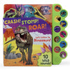Children's Book: Crash! Stomp! Roar! Let's Listen to Dinosaurs!