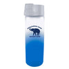 Frosted Glass Elephant Water Bottle
