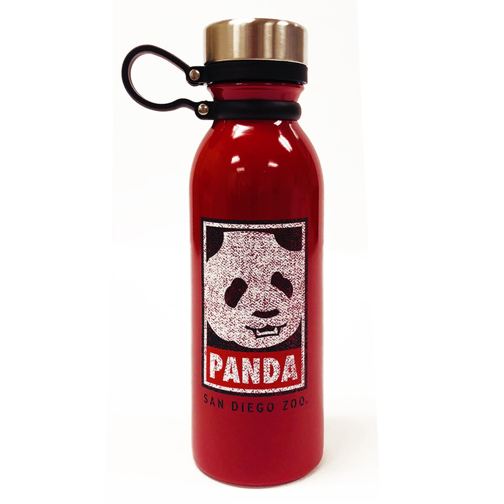 Panda Outline Water Bottle