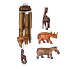 Animal Trio Bamboo Wind Chime