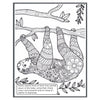 San Diego Zoo & Safari Park Coloring Book
