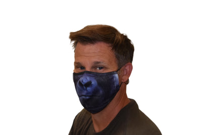 GORILLA ADULT FACE MASK – PRE-ORDER NOW FOR ESTIMATED DELIVERY END OF JULY