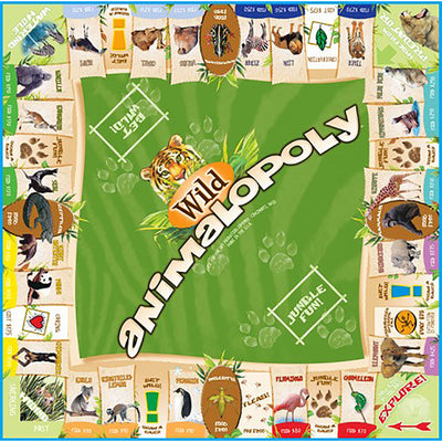 Game:  Wild Animalopoly