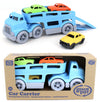 Green Toy - Car Carrier with Cars