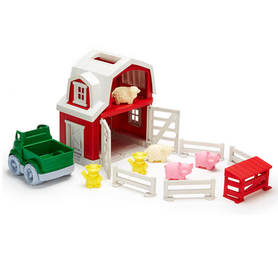 Green Toy - Farm Set