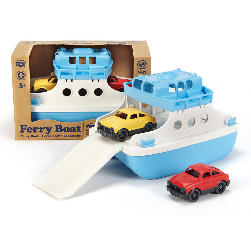 Green Toy - Ferry with Cars
