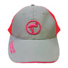 Circle Flamingo Trucker Hat