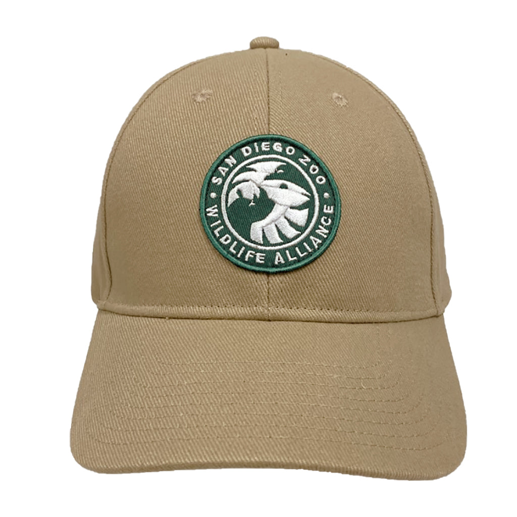San Diego Zoo Wildlife Alliance Baseball Cap - Khaki