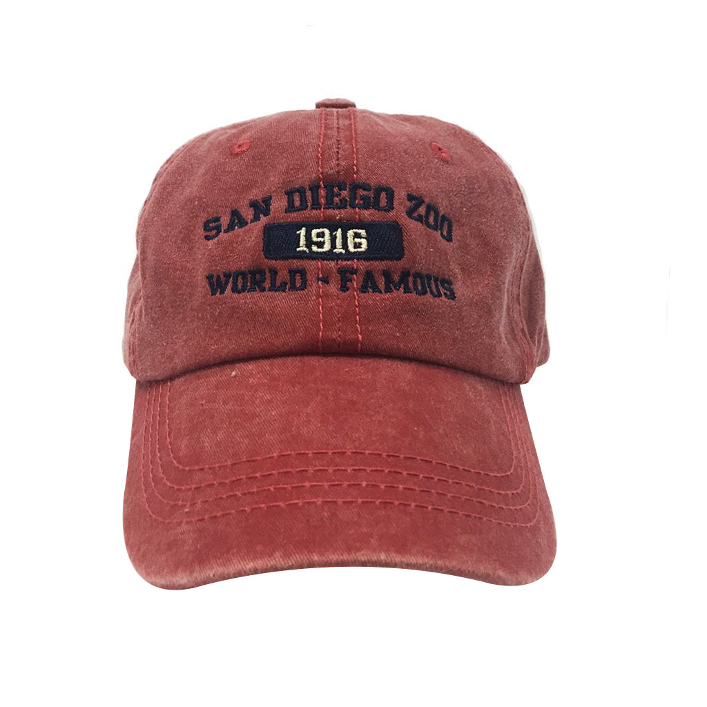 1916 Baseball Cap - Red
