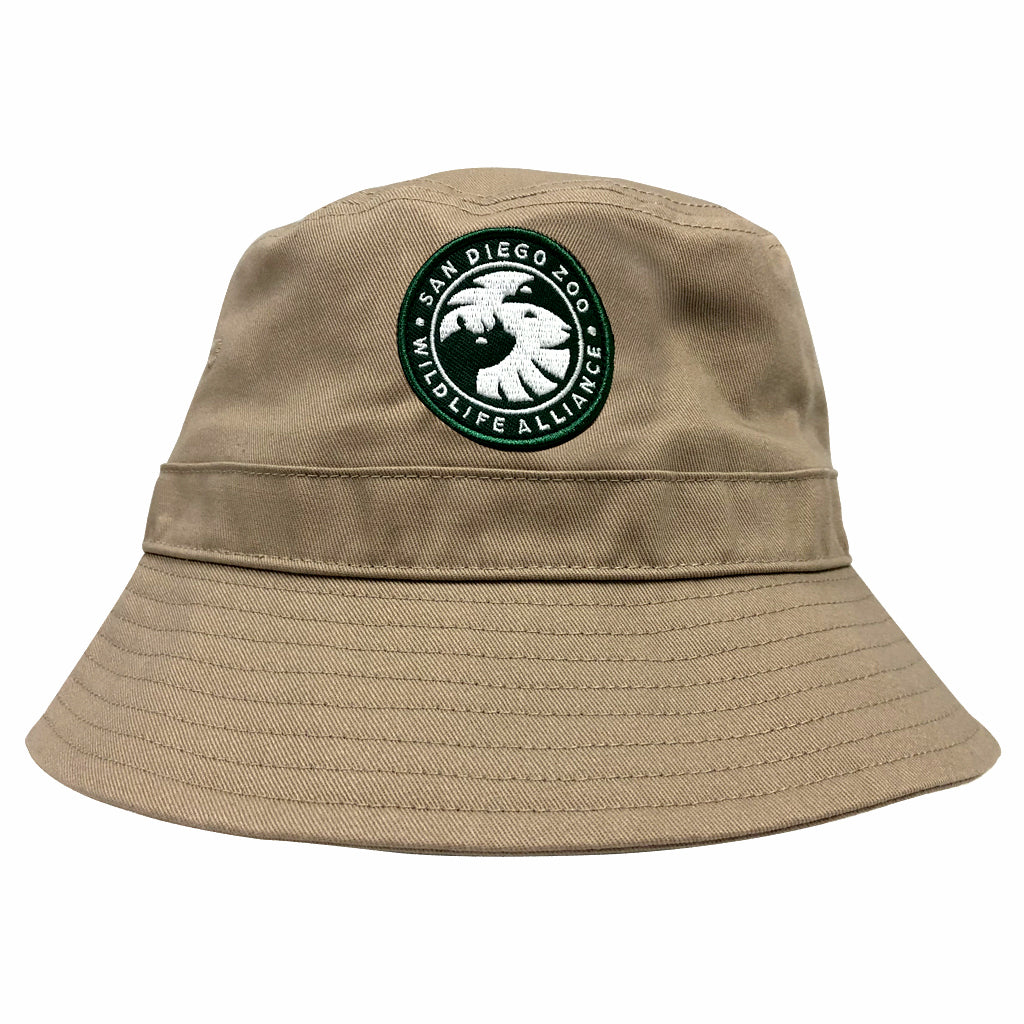 San Diego Zoo Wildlife Alliance Bucket Hat - Khaki