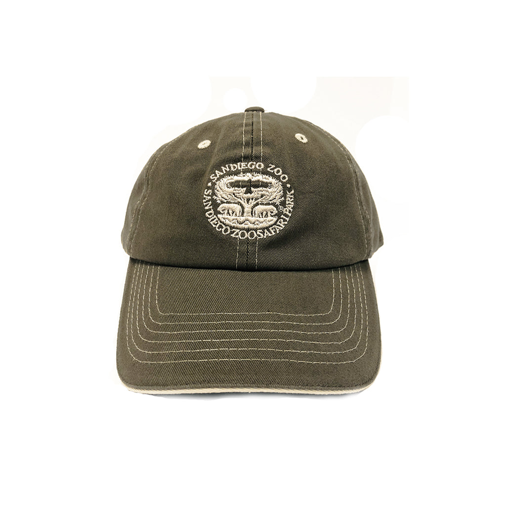 Tree of Life Youth Baseball Cap-Olive Green