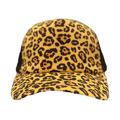 Leopard Ladies Trucker Hat