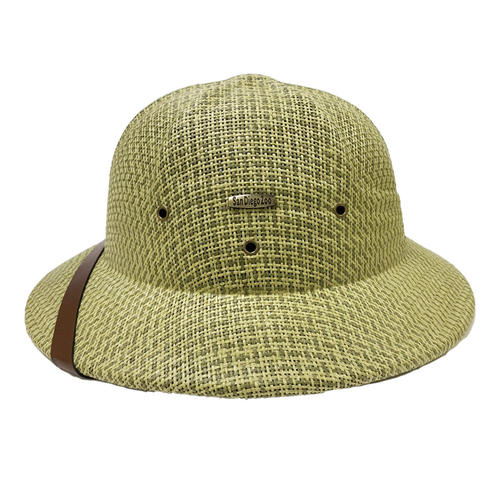 Safari Pith Helmet-Seagrass