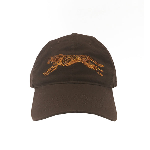 Cheetah Run Adult Baseball Hat