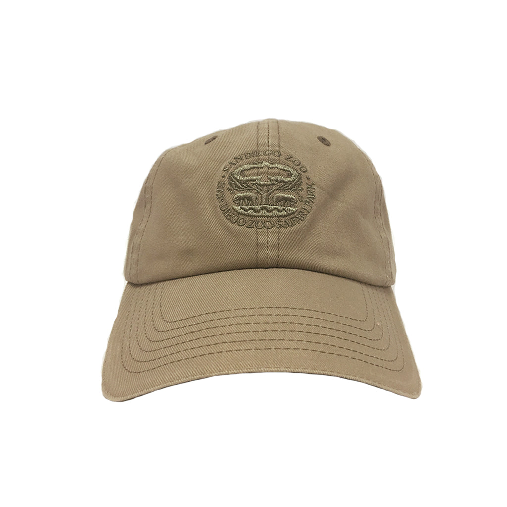 Tree of Life Youth Baseball Cap-Khaki