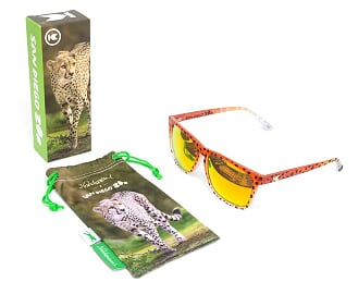 Knockaround Adult Sunglasses - Cheetah Fast Lanes
