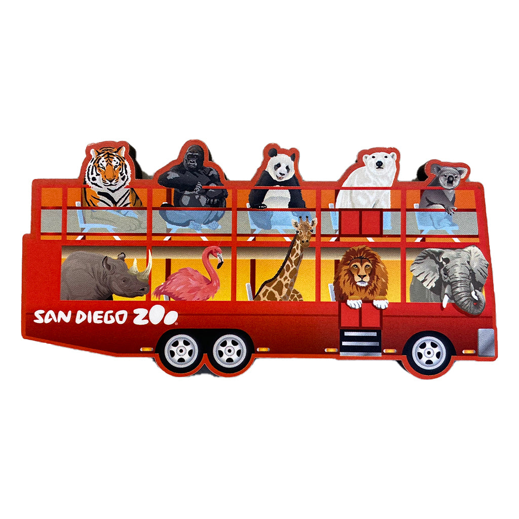 San Diego Zoo Bus Magnet