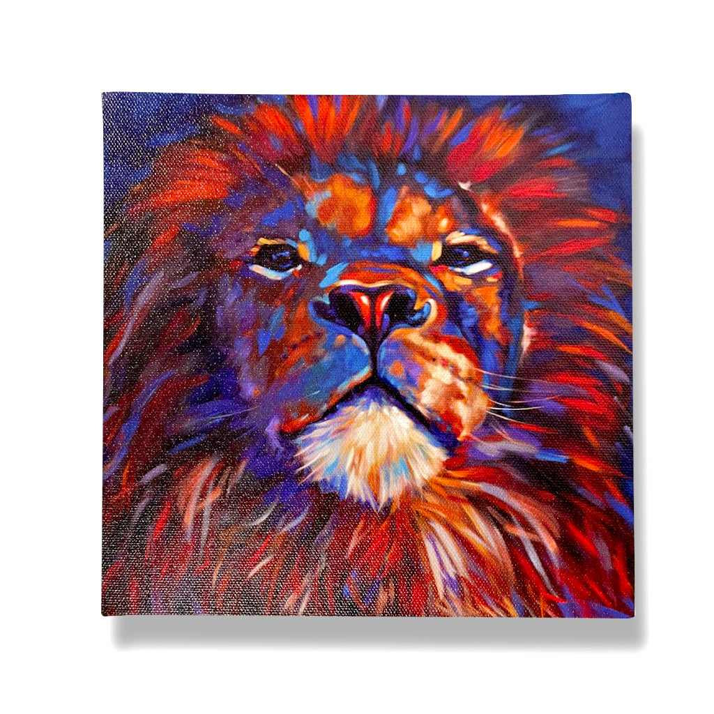 Lion Giclée Canvas Print