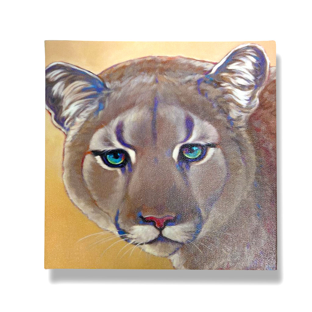 Mountain Lion Giclée Canvas Print