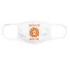 3 for $19.99 - Orange Lion Face Mask