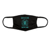 3 for $19.99 - Teal Lion Face Mask